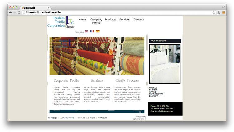 Ibrahim Textile