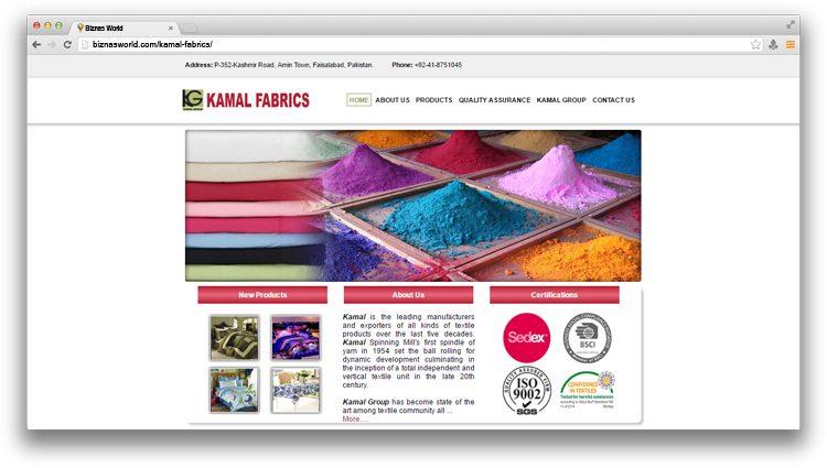 Kamal Fabrics