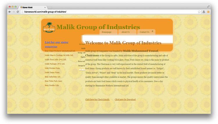Malik Group of Industries