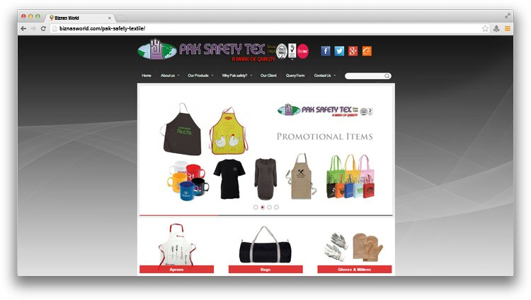 Pak Safety Textile