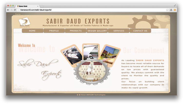 Sabir Daud Exports