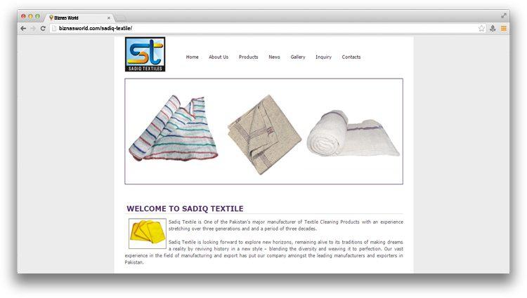 Sadiq Textile