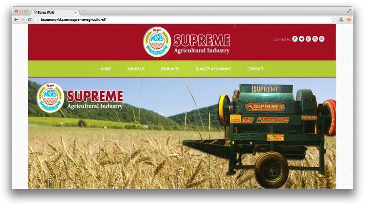 Supreme Agricultural Industry