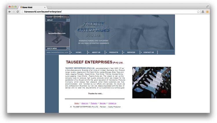 Tauseef Enterprises