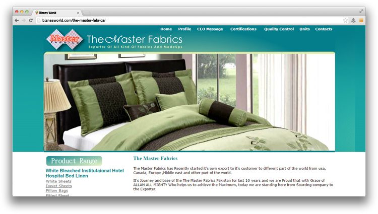 The Master Fabrics