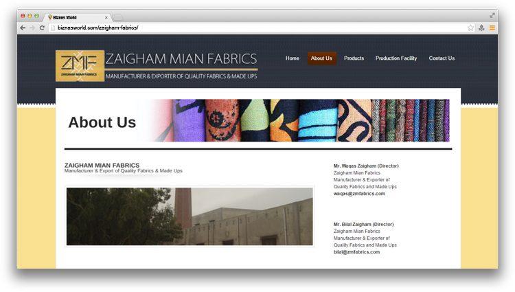 Zaigham Fabrics