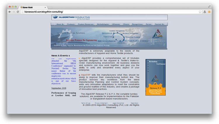 Algorithm Consulting (Pvt) Ltd.