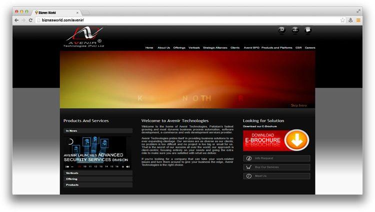 Avenir Technologies (Pvt.) Ltd.