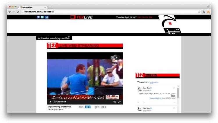 Geo Tez Tv