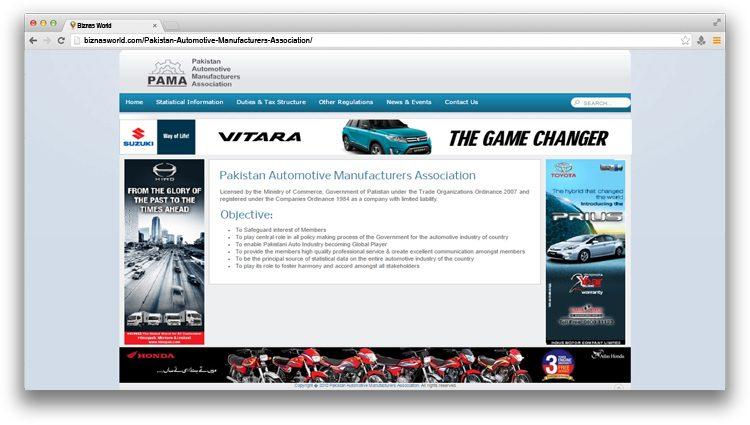 Pakistan Automotive Manufacturers Association