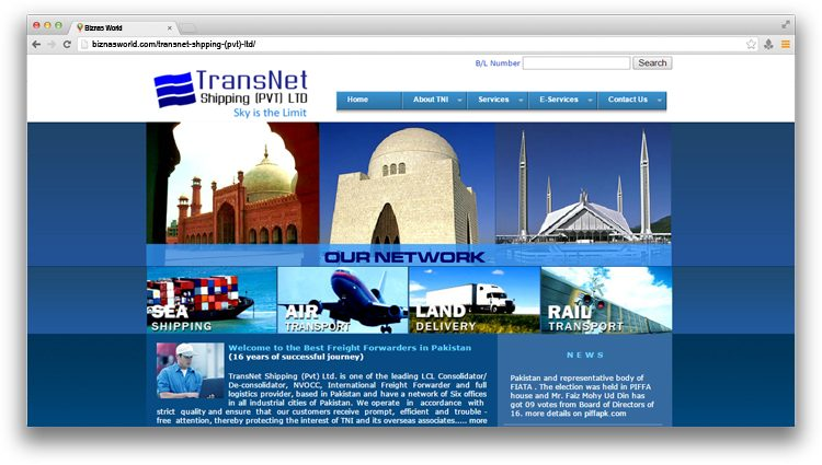 Transnet Shipping (Pvt) Ltd