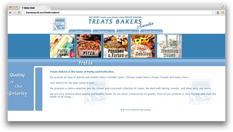 Treats Bakers