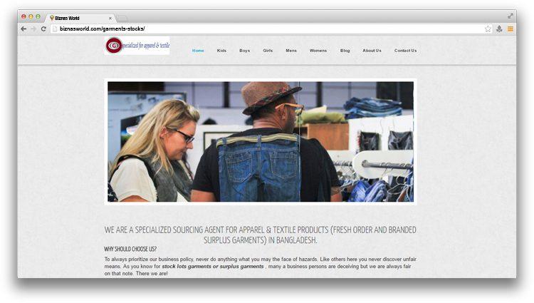 Garment Stocks - Biznas World