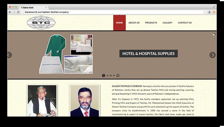 Saleem Textiles Company - Biznas World
